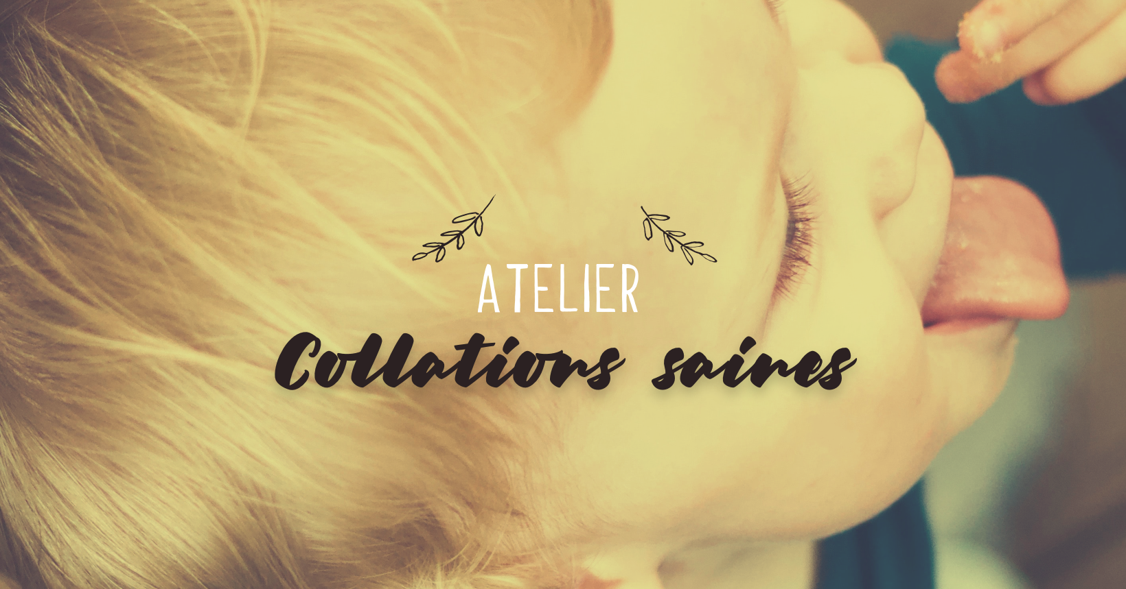 Atelier collations saines